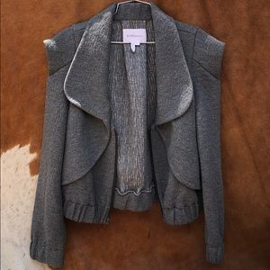 Bcbg grey jacket